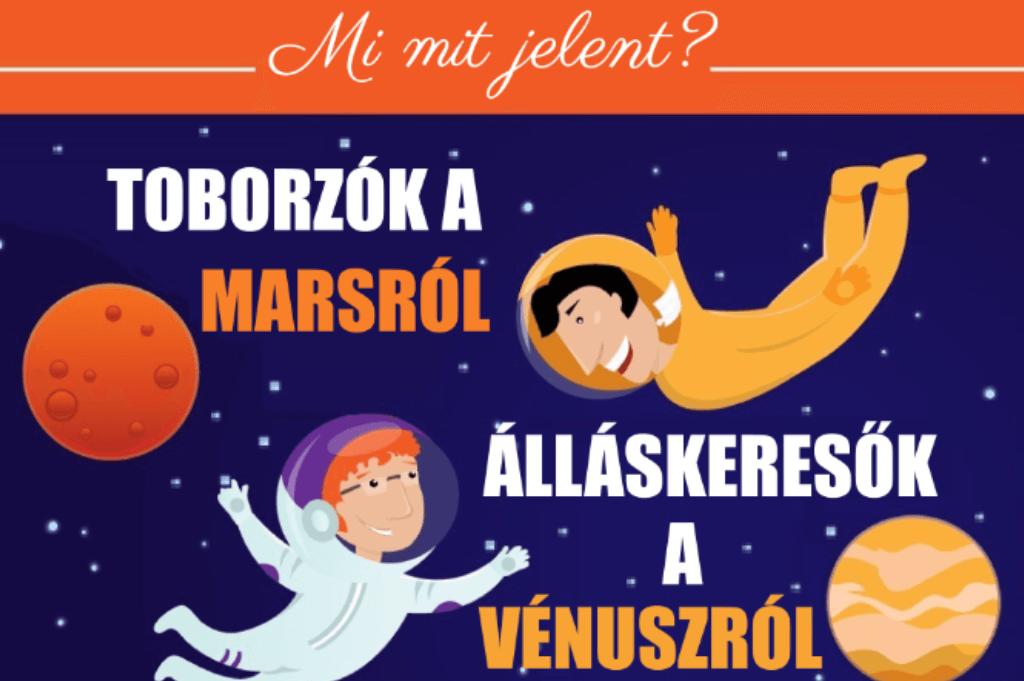 toborzók a Marsról, álláskeresők a Vénuszról jöttek