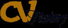 CV Factory logo header
